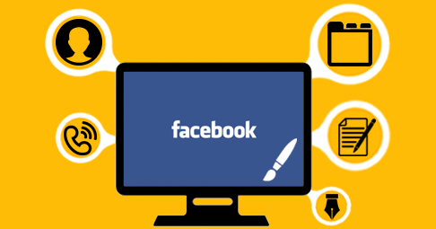 customize Facebook business page