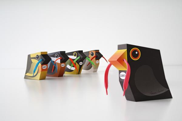 Gorrts shoes kid's shoes packaging design
