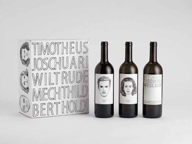 Gut Oggau Portrait wines_packagingdesign
