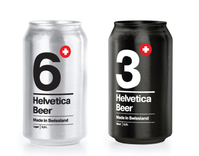 Helvetica Beer_packagingdesign