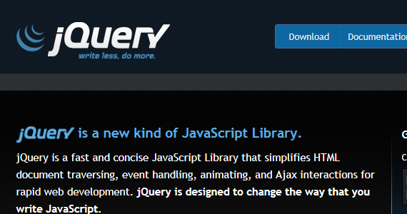jquery-prepare-web-design-project